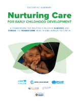 Nurturing Care for Early Childhood Development (Summary version)