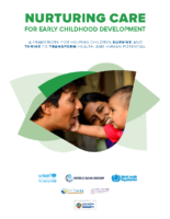 Nurturing Care for Early Childhood Development (Full version)